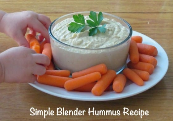Simple Blender Hummus Recipe