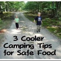 3 Cooler Efficiency Tips for Real Food Camping (& a Free Camping eBook!)