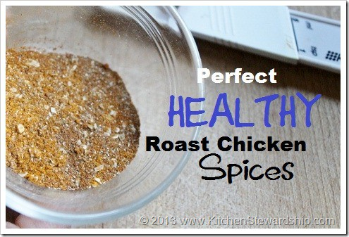 Healthy Roast Chicken Spices