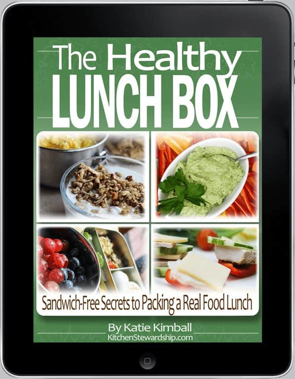 The Healthy Lunch Box on i Pad