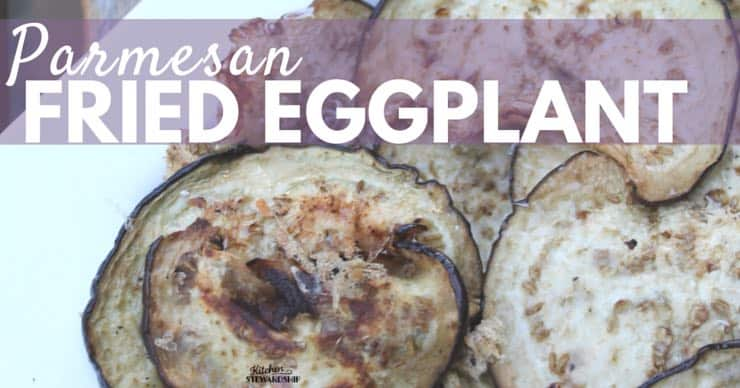Eggplant doesn't have to be bitter! Enjoy it with this simple no-frills method, Parmesan Fried Eggplant Recipe...now you can actually BUY one of those cute purple vegetables instead of being afraid of them!