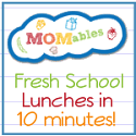 Weekly school lunch menus by subscription!