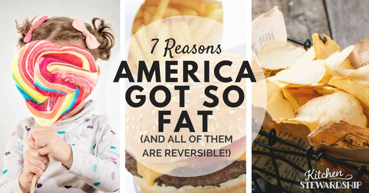 7 Reasons America Got So Fat 1 F