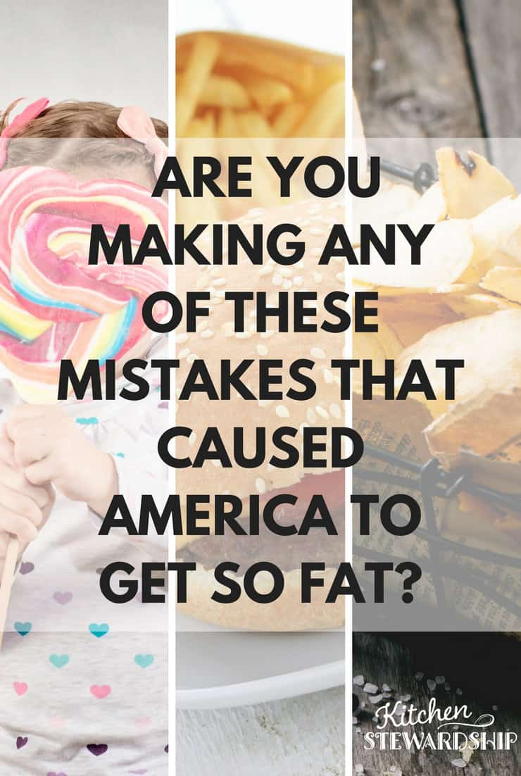 Americans are fat! What mistakes are they making?