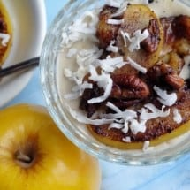 Caramelized Banana-Apple Dessert Topping Recipe
