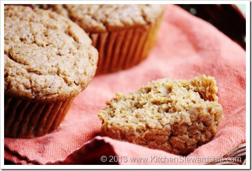 Easy Gluten-free One-Bowl Pumpkin Muffins (also egg-free, dairy-free, nut-free, corn-free, soy-free and refined sugar-free) Kid-friendly and delicious