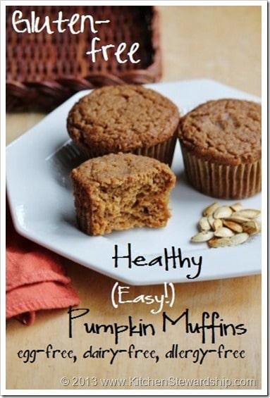 Easy Gluten-free Pumpkin Muffins