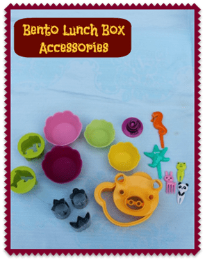 Lunch Box Bento accessories