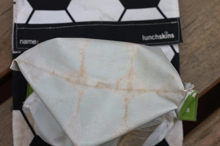 Lunchskins reusable bags flaking apart after a few years of use