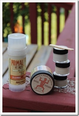 Can extreme armpit stink and body odor mean you're detoxing through your armpits? Could be - your 'pits want to get rid of toxins one way or another, and sometimes, that just stinks. Primal Pit Paste natural deodorant is a great option to buy when you can't DIY!