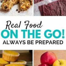 Monday Mission: Take Real Food With You on the Go