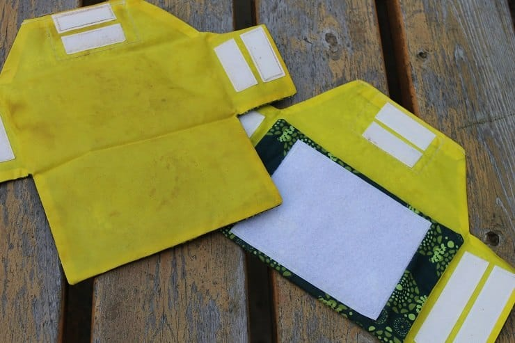 One of my favorite reusable snack and sandwich bags - Ecolunchgear opens all the way and is so easy to clean!