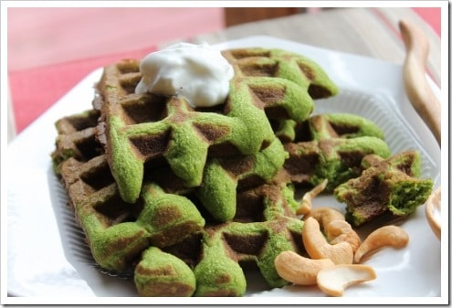 Spinach Garlic Grain-free Waffles (27) (475x317)