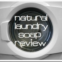 Molly's Suds Natural Laundry Detergent {REVIEW}