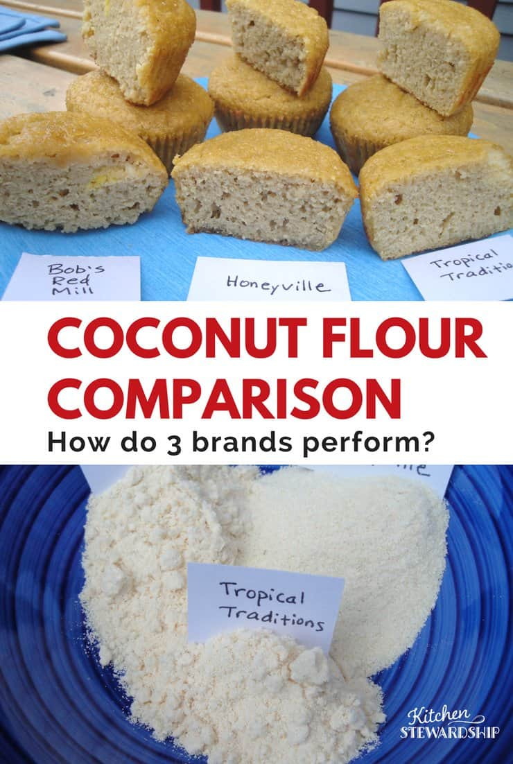 Are all coconut flours the same? Find out how three brands stack up in this detailed review so you can find what works best for delicious baked goods.