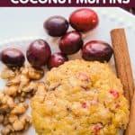 Grain Free coconut muffins