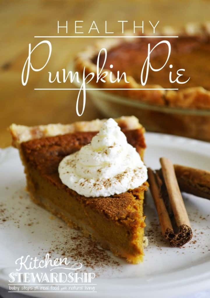 Healthy Whole Foods Pumpkin Pie Recipe