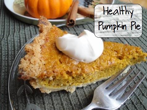 "No Cans"" Healthy Pumpkin Pie Recipe {with a secret, ahem, twist}"