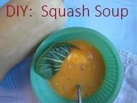 DIY Squash Soup