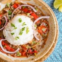 Steak Fajita Soup Recipe and Health Benefits of Onions