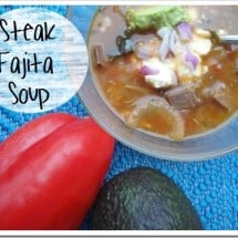 Nourishing Soup Series: Steak Fajita Soup Recipe