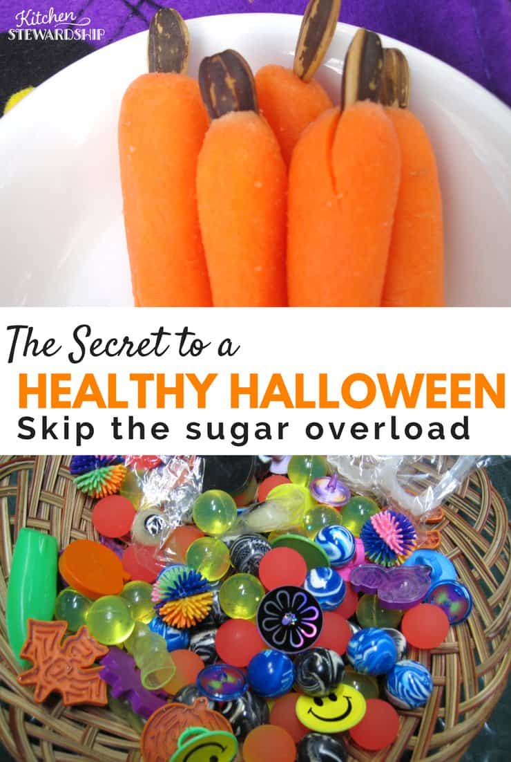 the secret to having a healthy halloween: creative ideas and solutions