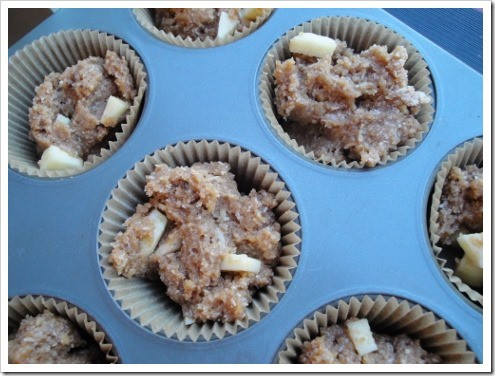 almond flour muffins experiments