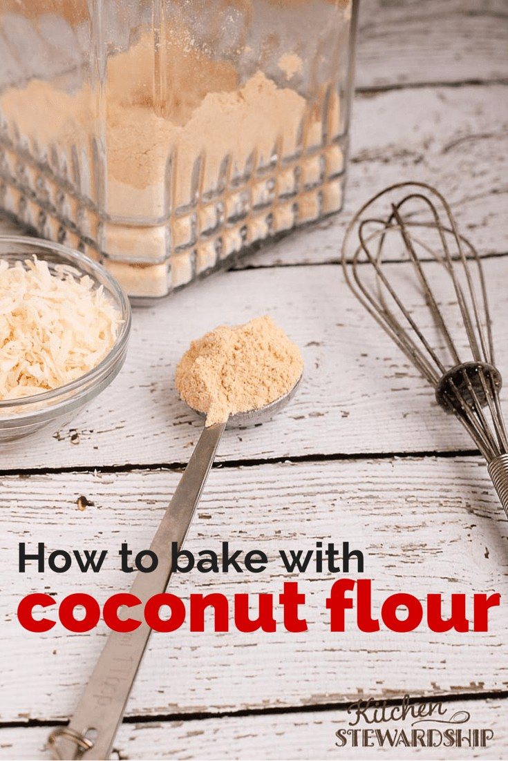 coconut flour substitutions, baking with coconut flour