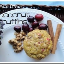 Recipe Connection: Grain-free Coconut Muffins