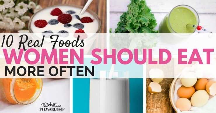 Women are different than men - celebrate it! 5 foods for top women's health and 5 more immunity boosters for everyone