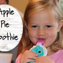 The Power of Eating Words {& an Apple Pie Smoothie Recipe}