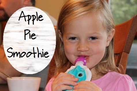 Apple Pie Smoothie Recipe - healthy, easy and kid approved