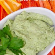 Probiotic Avocado Kids Dip Recipe {Plus Holiday Tips}