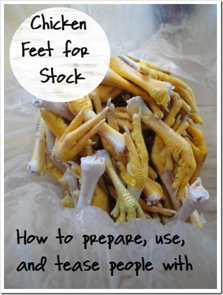 How to Use Chicken Feet in Stock