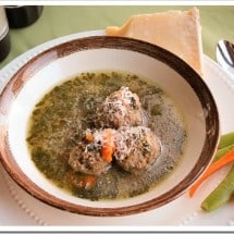 Nourishing Soup Series: Quick Italian Wedding Meatball Soup with Greens