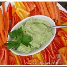 What I Bring to a Holiday Party {Recipe: Probiotic Avocado Dip}