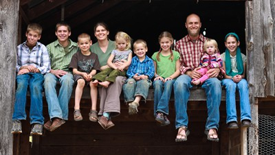 Harmony Acres family