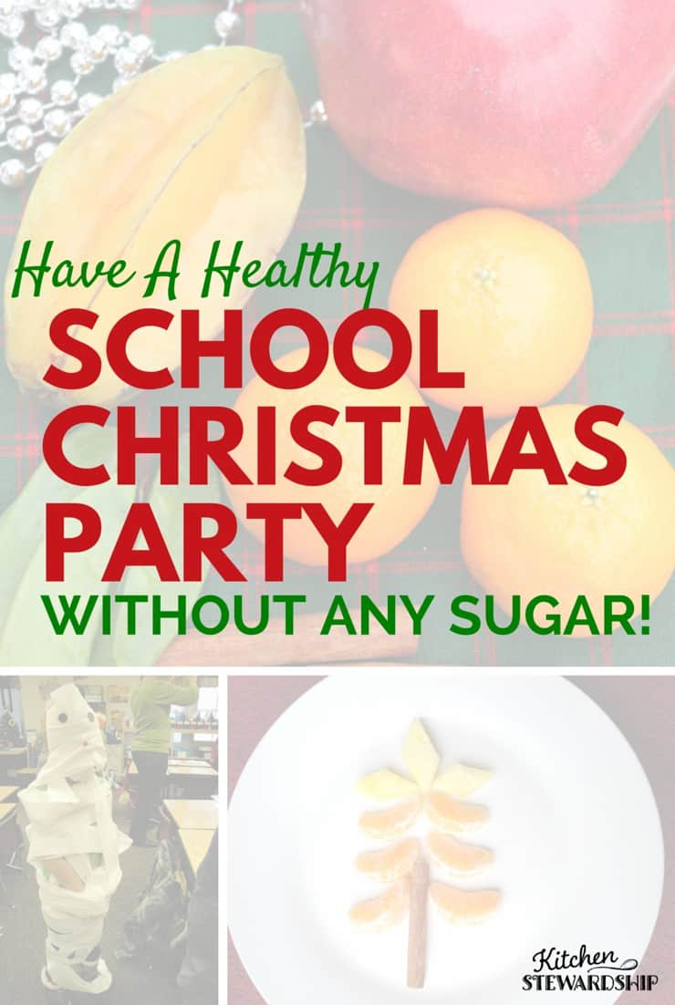Celebrate the holidays at school real food style with festive treats made from fruits and vegetables! Plus games and crafts that everyone will love.