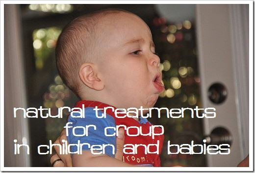 croup cough natural treatments