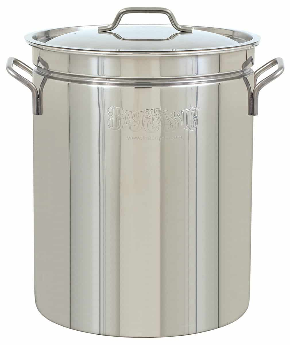 huge stainless steel stockpot