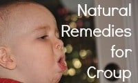 Natural Remedies for Croup