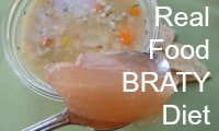Real Food BRATY Diet