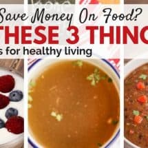 Monday Mission: YOUR Top 3 Frugal Tips For Healthy Living