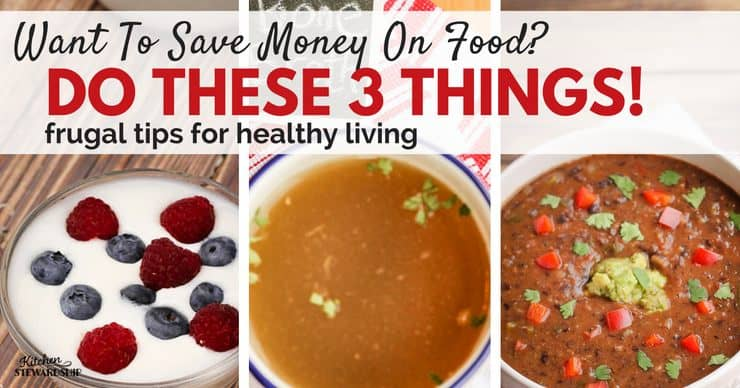 Top 3 Frugal Tips For Healthy Living