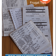 Monday Mission: YOUR Top 3 Frugal Practices