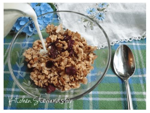 Cardamom Spiced Nutty Granola (1)
