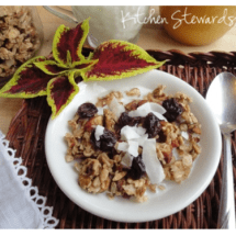 The Best Grain-free Granola Ever! (Please vote for me)