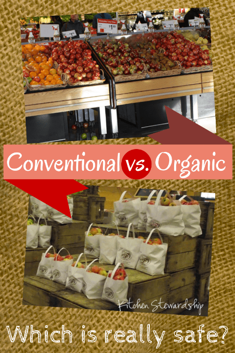 Conventional vs. Organic Foods: My rebuttal to Moyer's article in Slate.com saying that we should just eat conventional produce because organic isn't any safer.