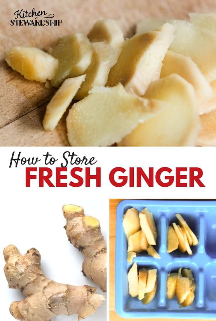 How to Store fresh ginger