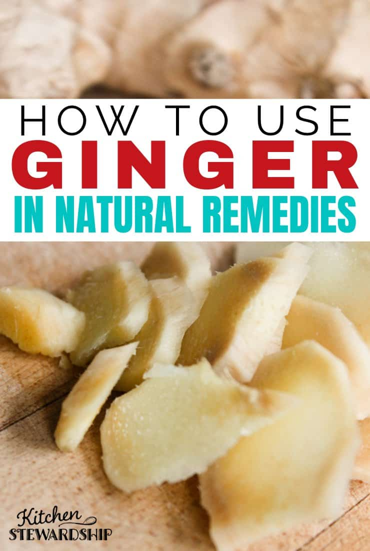 Natural remedies using ginger